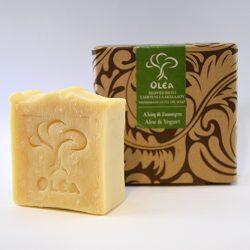 Σαπούνι για ευαίσθητο δέρμα με αλόη και γιαούρτι