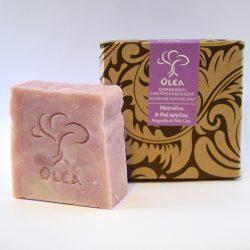 Σαπούνι προσώπου - σώματος με ροζ άργιλο