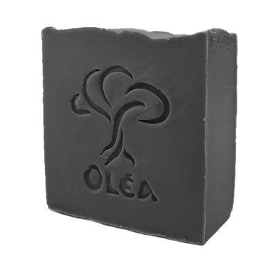 πράσινο σαπούνι με ενεργό άνθρακα